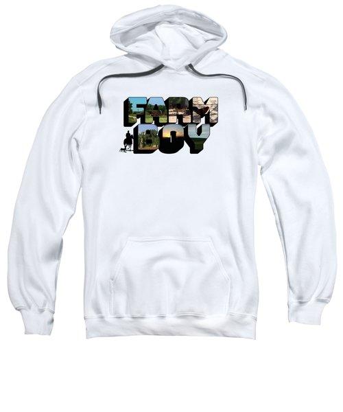Farm Boy Big Letter Sweatshirt