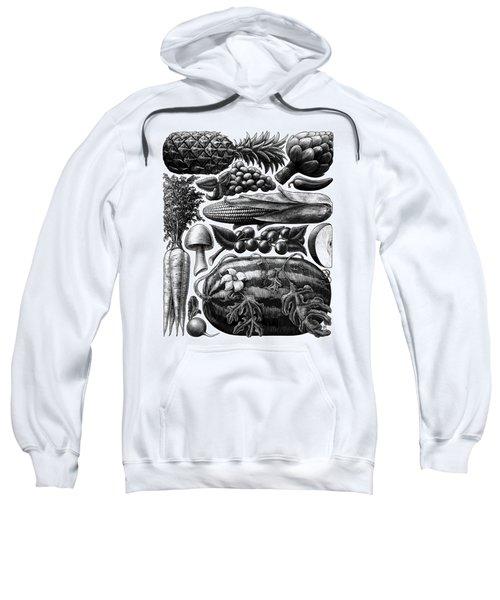 Farmer's Market - Bw Sweatshirt