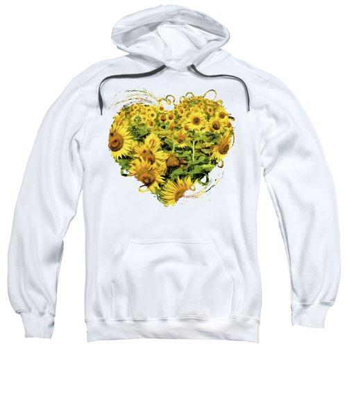 Field Of Sunflowers Sweatshirt