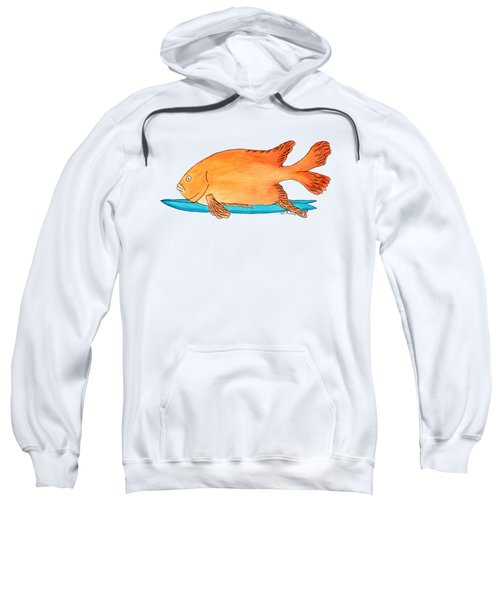 Fish On A Fish Sweatshirt