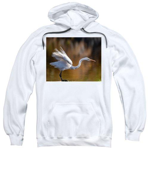 Floofy Egret Sweatshirt