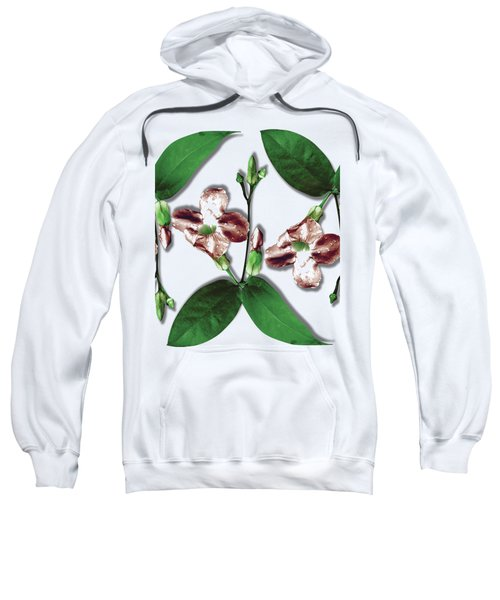 Floral Bud With Multi Leaves Sweatshirt