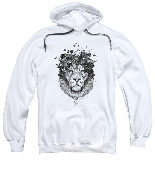 Floral Lion Sweatshirt