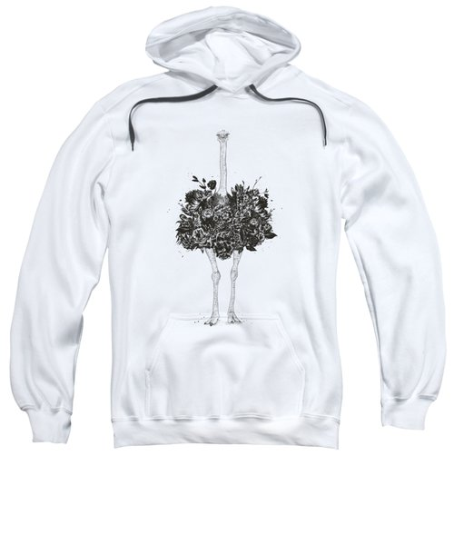 Floral Ostrich Sweatshirt