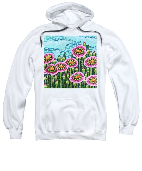 Floral Whimsy 8 Sweatshirt