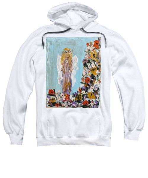 Flower Child Angel Sweatshirt