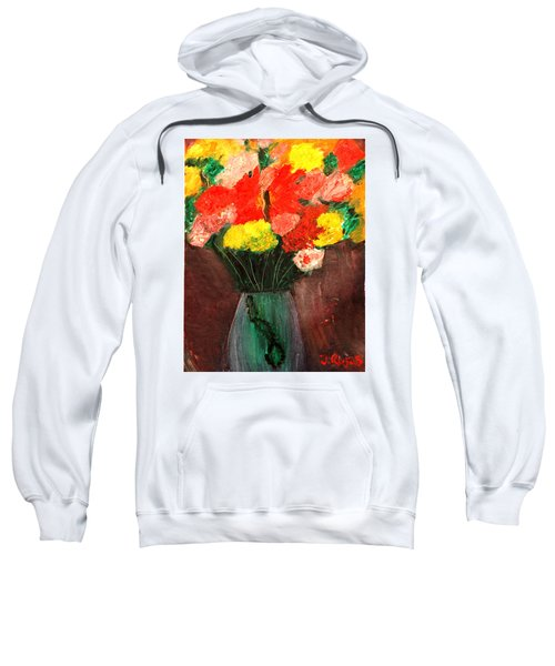 Flowers Still Life Sweatshirt