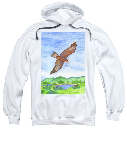 Flying Hawk Sweatshirt