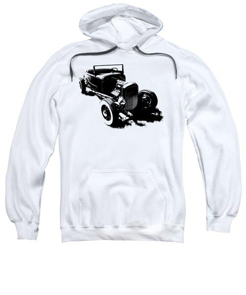 Ford Flathead Roadster Two Blk Sweatshirt