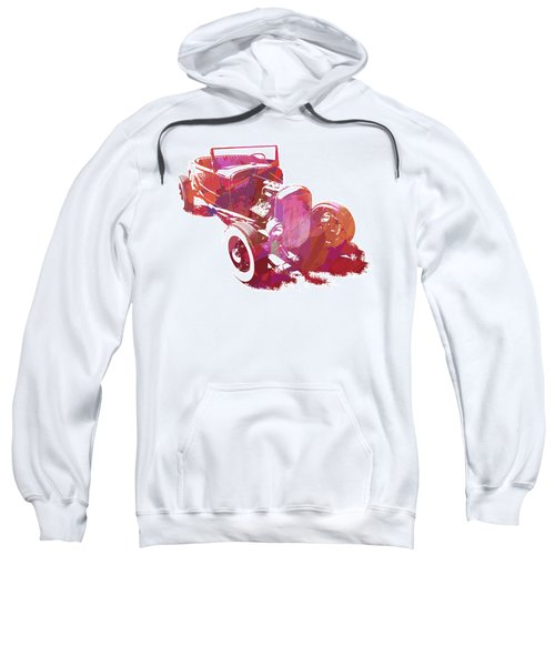 Ford Flathead Roadster Two Pop Sweatshirt