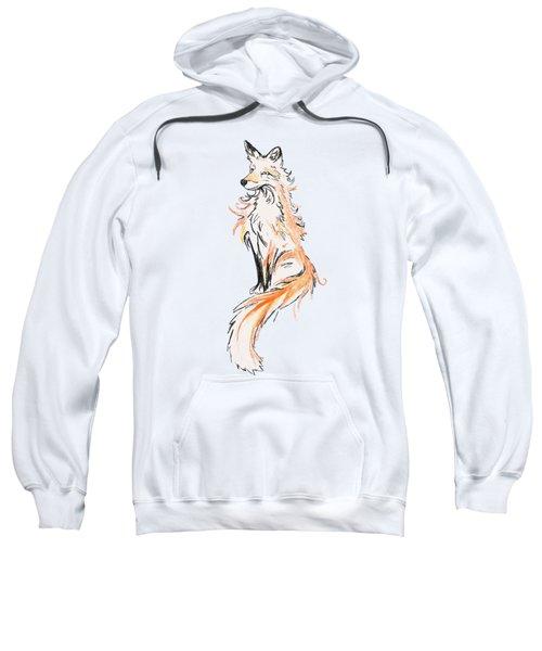 Fox Oil Painting Sweatshirt