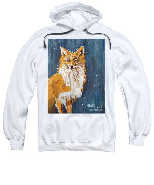 Fox Winter Night Sweatshirt
