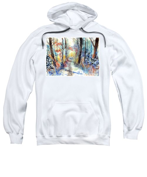 Frosty Blades Of Grass Sweatshirt