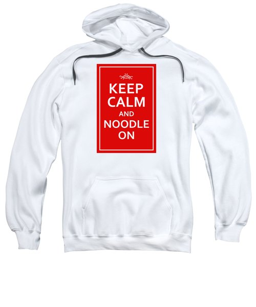 Fsm - Keep Calm And Noodle On Sweatshirt