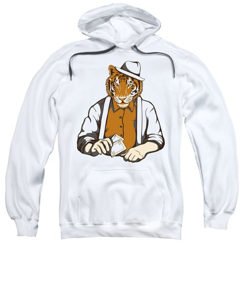Gambling Tiger Sweatshirt