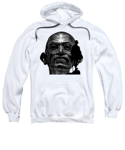 Gandhi - The Walk Sweatshirt