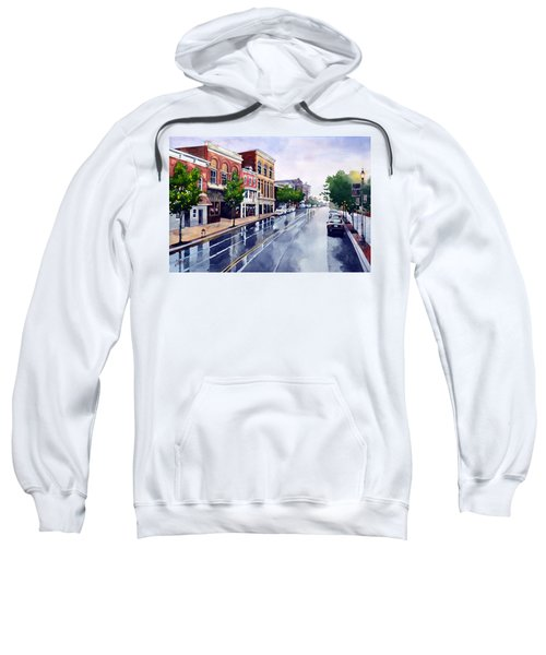 Gaslights And Afternoon Rain Sweatshirt