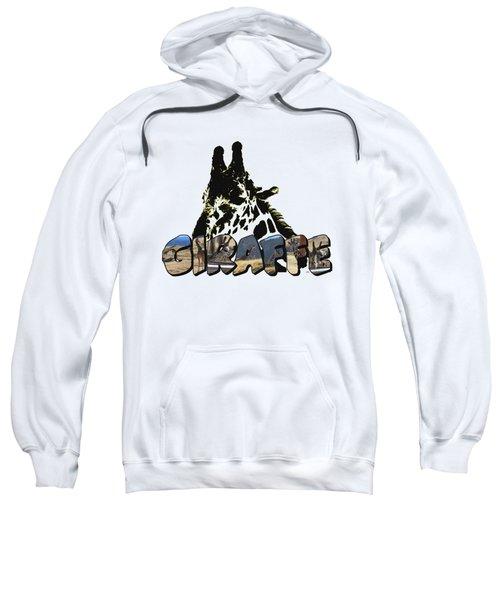Giraffe Big Letter Sweatshirt