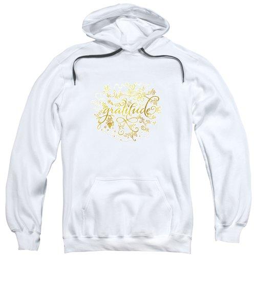Golden Gratitude Sweatshirt