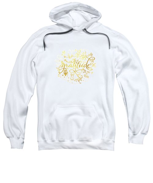 Golden Gratitude Sweatshirt
