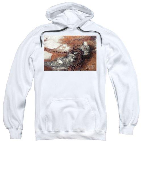Grand Canyon In Winter Sweatshirt