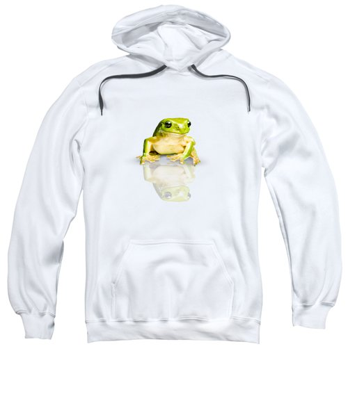 Green Tree Frog Sweatshirt