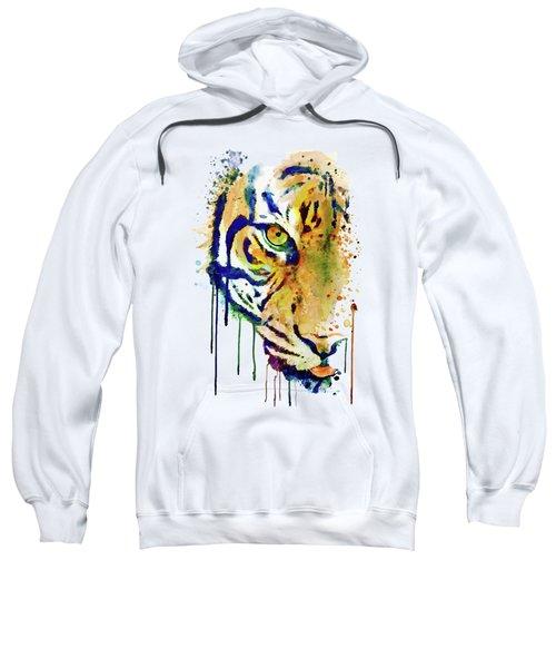 Half Faced Tiger Sweatshirt