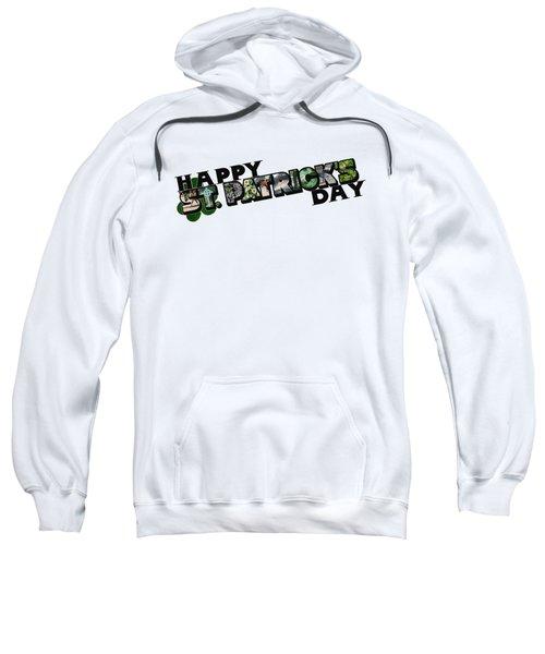 Happy St. Patrick's Day Big Letter Sweatshirt