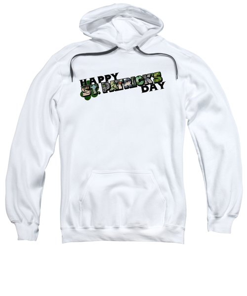 Happy St. Patrick's Day Big Letter Sweatshirt