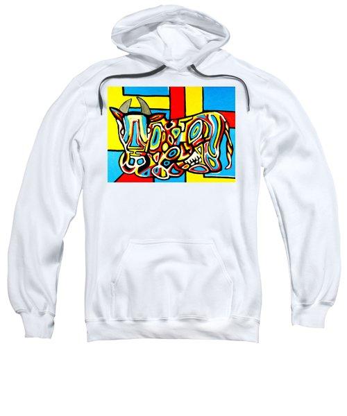 Haring's Cow Sweatshirt