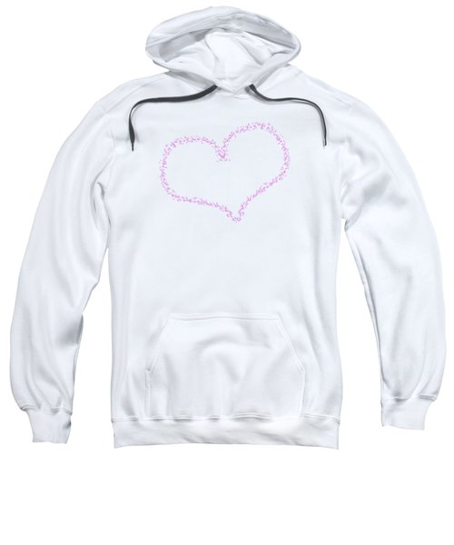 Heart Shaped Love Birds Sweatshirt