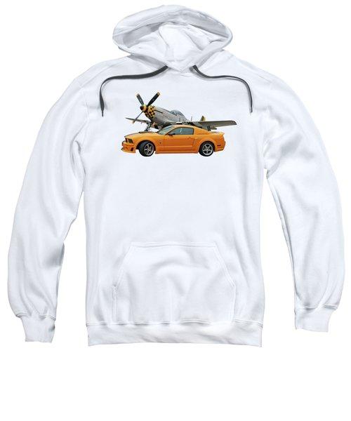 High Flyers - Mustang And P51 Sweatshirt