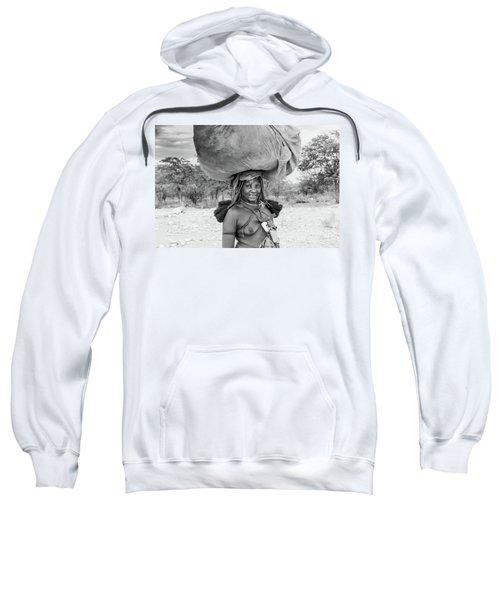 Himba Woman 2 Sweatshirt