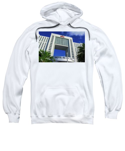 Hotel Riu Palace In Cancun Sweatshirt