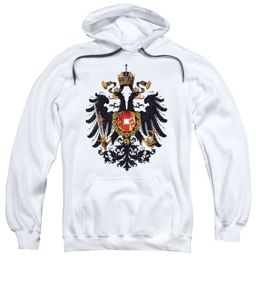 Imperial Coat Of Arms Of The Empire Of Austria-hungary 1815 Transparent Sweatshirt