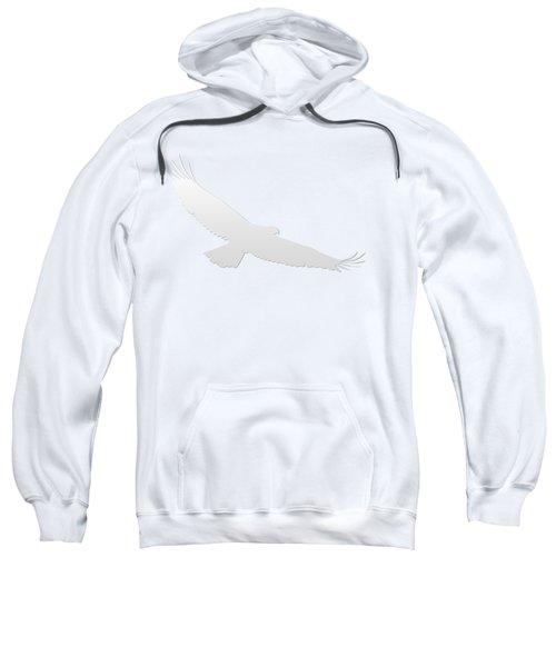 Isolated Bald Eagle 2018-3 Gradient Sweatshirt