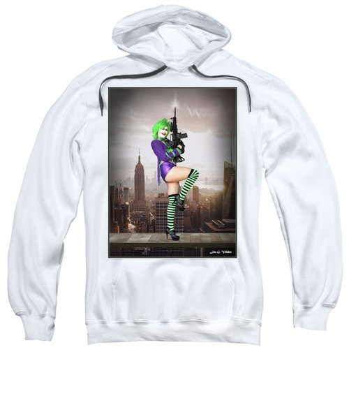 Joker Is Wild Sweatshirt