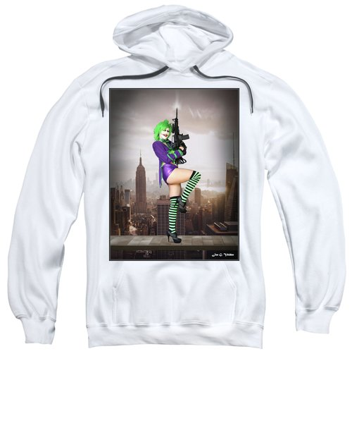 Joker Is Wild Sweatshirt