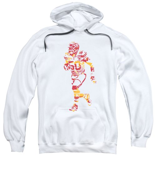 Justin Houston Kansas City Chiefs Apparel T Shirt Pixel Art 1 Sweatshirt