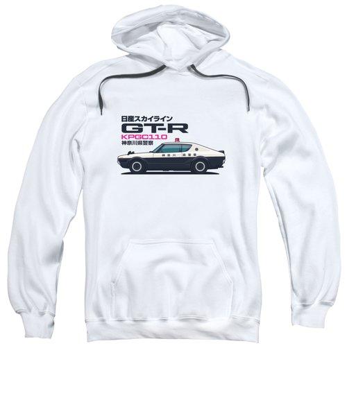 Kpgc110 Gt-r Japan Police Car Sweatshirt