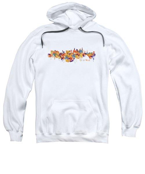 Las Vegas Watercolor Skyline Sweatshirt