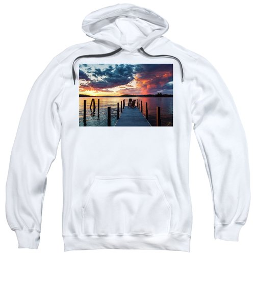 Late Summer Storm. Sweatshirt