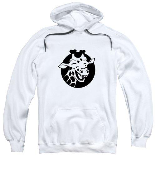 Laugh Giraffe Sweatshirt