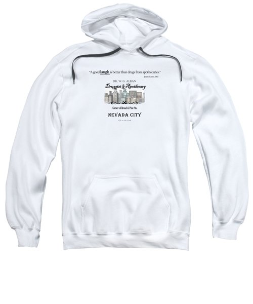 Laughter Is The Best Medicine - Apothecary Sweatshirt