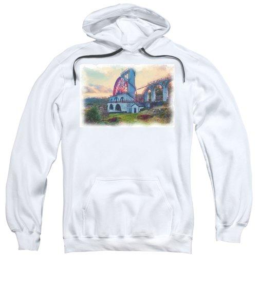 Laxey Wheel 2 Sweatshirt