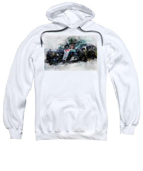 Lewis Hamilton, Mercedes Amg F1 W09 - 10 Sweatshirt