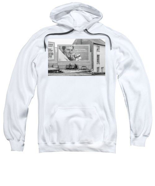 Lighting Up For A Quick Smoke Sweatshirt