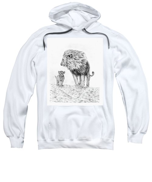 Lion And Cub Sweatshirt
