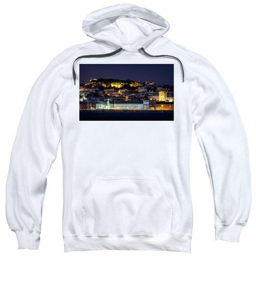 Lisbon In Christmas Time Sweatshirt
