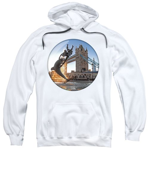 Lost In A Daydream - Floating On The Thames Sweatshirt